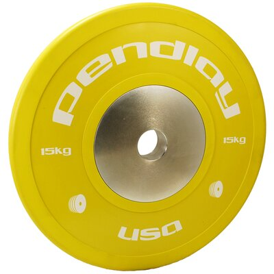 15kg Elite Color Bumper Plates (Set of 2)