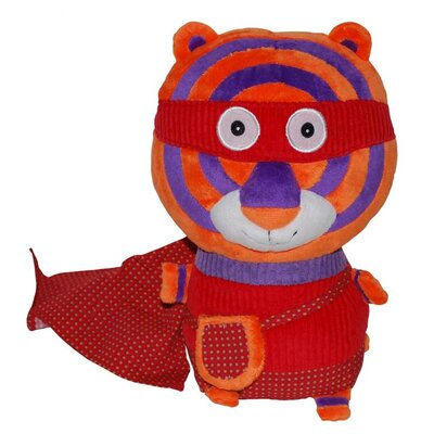 Geared for Imagination Ze Super Zeros - Zigg the Tiger Plush Toy