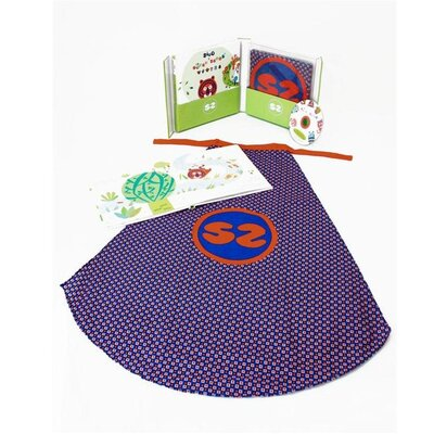 Geared for Imagination Ze Super Zeros - Book, Cape and CD Gift Set