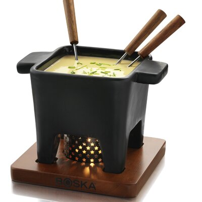 Boska Holland Tapas Cheese Fondue in Black