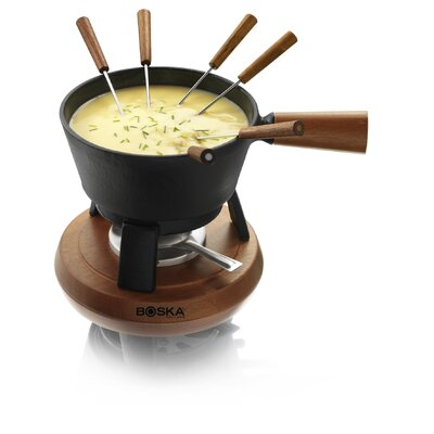 Cast-Iron Cheese Fondue Pro
