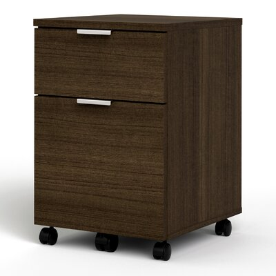 Bestar Contempo 2-Drawer Mobile Pedestal