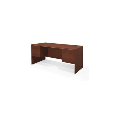 "Bestar Willow Creek II 66"" W Bordeaux Credenza"