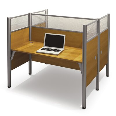 Bestar Pro-Biz Double Face-to-Face Workstation with 10 Privacy Panels