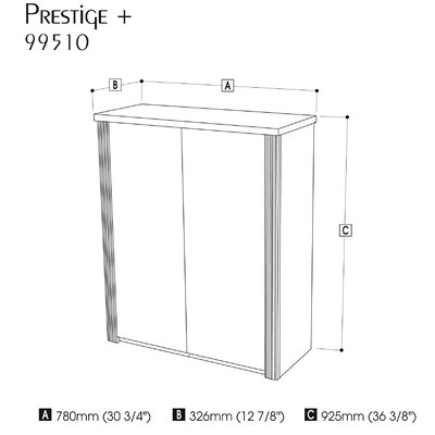 "Bestar Prestige + 2 Doors Cabinet For 30"" Lateral File"