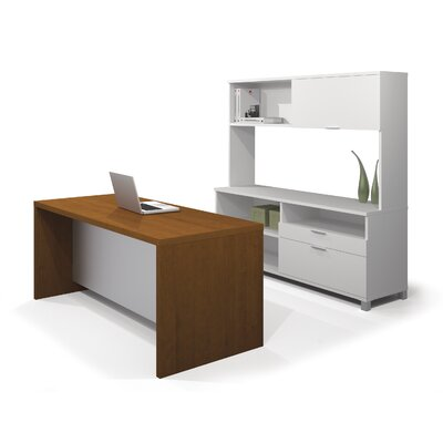 Bestar Pro-Linea Standard Desk Office Suite