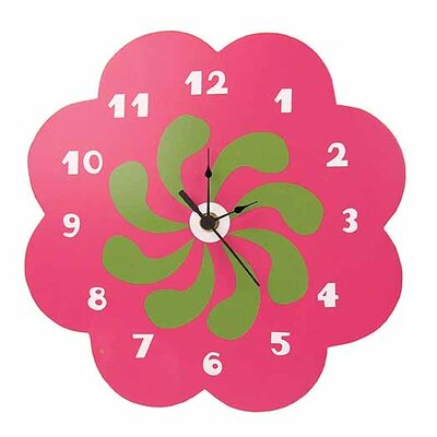 Lucy Flower Wall Clock