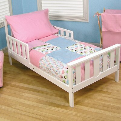 Cupcake 4 Piece Toddler Bedding Set