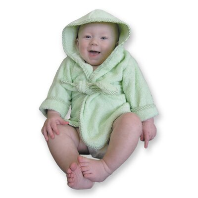 Trend Lab Infant Terry Velour Bath Robe in Pink