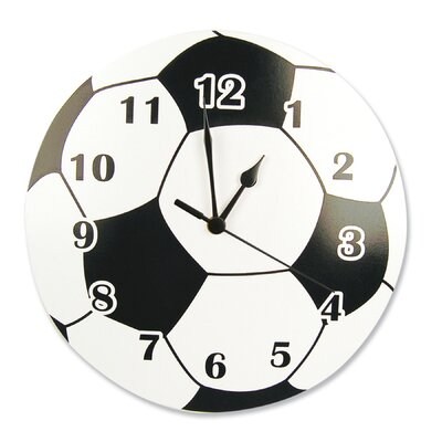 "Trend Lab 11"" Soccer Ball Wall Clock"
