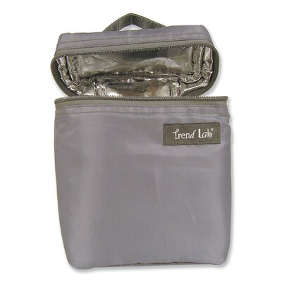 Trend Lab Bottle Bag in Gray