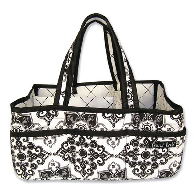 Trend Lab Versailles Black and White Storage Caddy