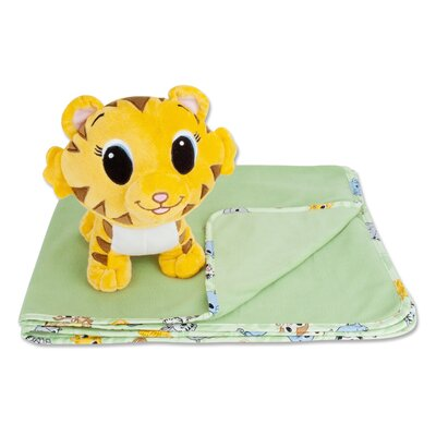 Trend Lab Chibi Blanket and Tiger Buddy Gift Set