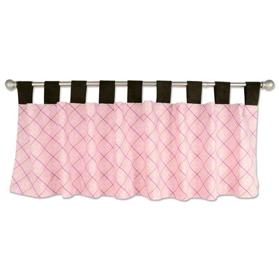 Trend Lab Rock Angel Cotton Curtain Valance