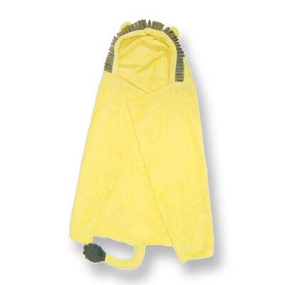 Character Lion Hooded Towel