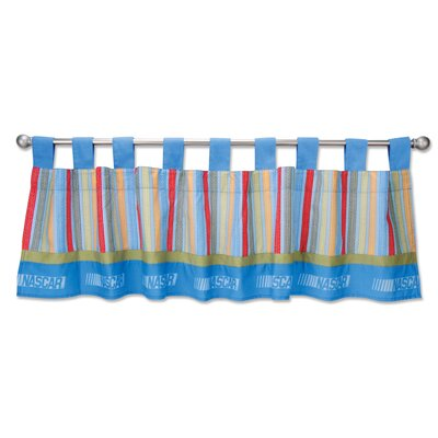 Trend Lab NASCAR Cotton Curtain Valance