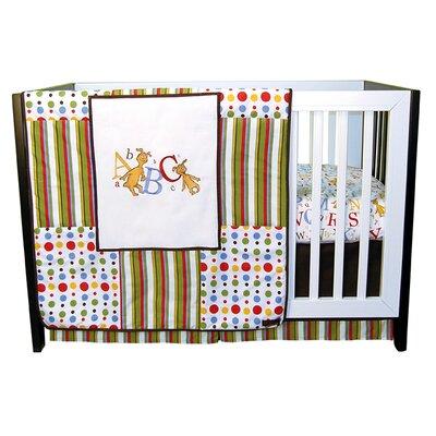 Dr. Seuss Abc 3 Piece Crib Bedding Set