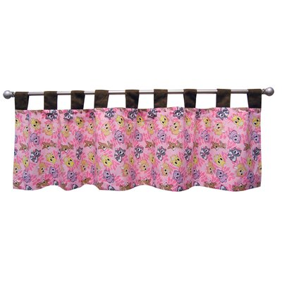 Trend Lab Lola Fox and Friends Cotton Blend Curtain Valance