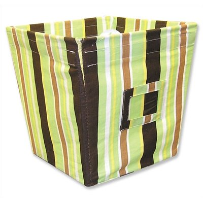 Trend Lab Giggles Medium Fabric Storage Bin in Stripe