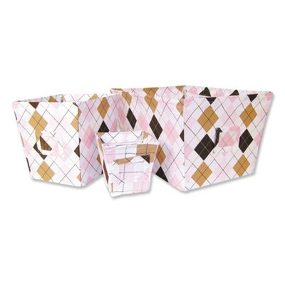 Trend Lab Prep School Pink Crib Bedding Collection