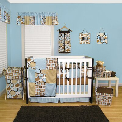 Trend Lab Bubbles 4 Piece Crib Bedding Set