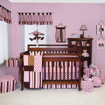 Trend Lab Maya 4 Piece Crib Bedding Set