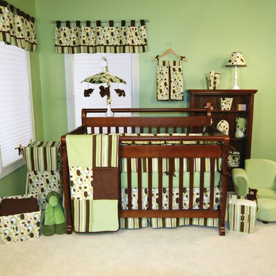 Trend Lab Giggles 4 Piece Crib Bedding Set