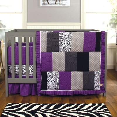 Trend Lab Grape Expectations Crib Bedding Collection