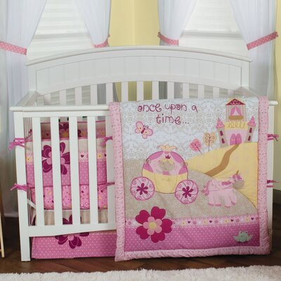 Storybook Princess Crib Bedding Collection