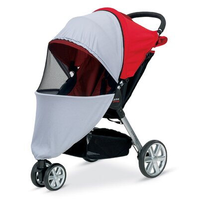 Britax B-Agile Stroller UV Mosquito Bug Cover
