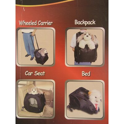 Creative Motion Rolling Backpack Pet Carrier
