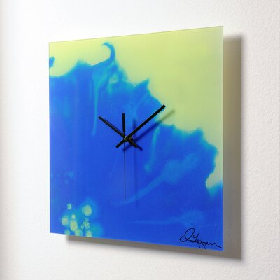 HangTime Designs Morning Glory Wall Clock