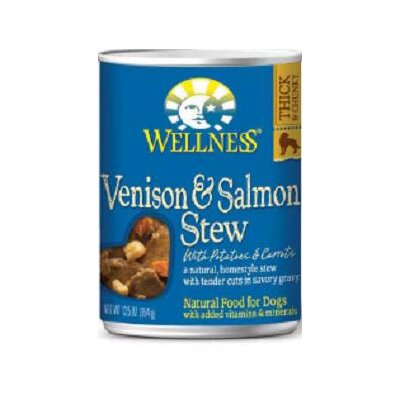 Venison and Salmon Stew with Potatoes and Carrots Wet Dog Food (12.5-oz, case of 12) ...