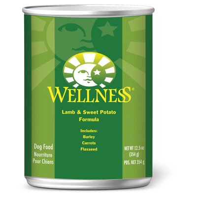 Wellness Lamb and Sweet Potato Formula Wet Dog Food