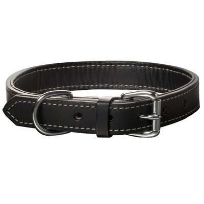 Black Tie Nic Hardware Dog Collar