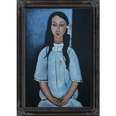 Tori Home Alice by Modigliani Framed Original Painting