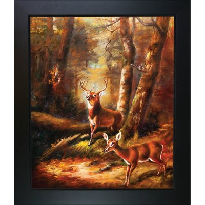 The Forest Adirondacks Tait Framed Original Painting