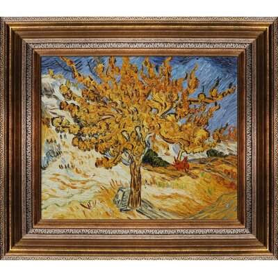 Tori Home Van Gogh The Mulberry Tree Hand Painted Oil on Canvas Wall Art