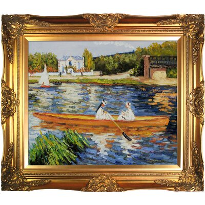 Tori Home Boating on the Seine Canvas Art