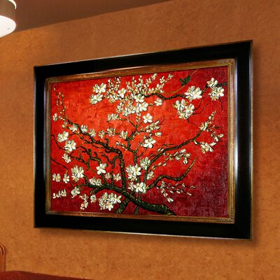 Tori Home Branches of an Almond Tree in Blossom Canvas Art