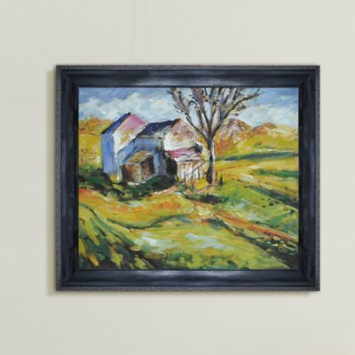 Tori Home House in a Landscape Canvas Art