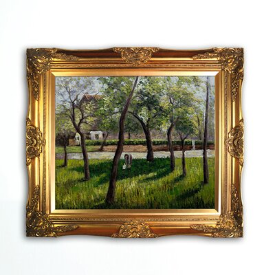 Tori Home An Enclosure in Eragny Canvas Art