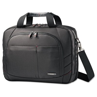Samsonite Black Label Perfect Fit Adjustable Laptop Briefcase