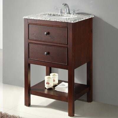 "Simpli Home Burnaby 20"" Single Bathroom Vanity Set"