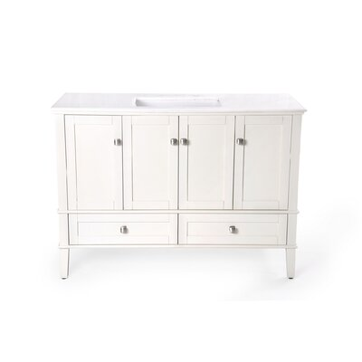"Simpli Home Chelsea 48"" Bathroom Vanity Set"