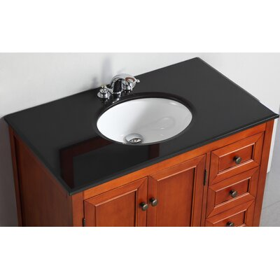 "Simpli Home Yorkville 36"" Bathroom Vanity Set"