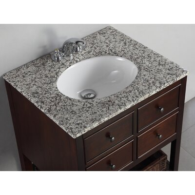 "Simpli Home Burnaby 30"" Bathroom Vanity Set"