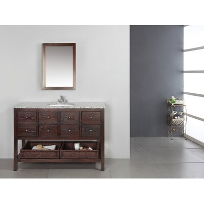 """Simpli Home Burnaby 48"""" Bathroom Vanity Set"""