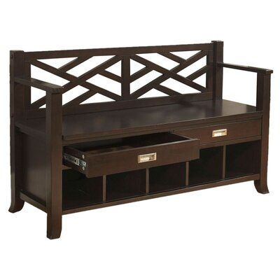 Simpli Home Sea Mills Entryway Bench