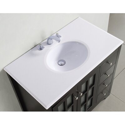 "Simpli Home Orleans Single 36"" Bathroom Vanity Set"